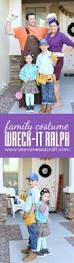 halloween diy wreck ralph family costume vanessa craft