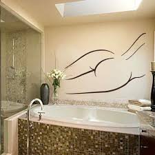 battoo bathroom wall art decals vinyl sticker woman decal
