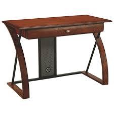 best buy computer table aurora contemporary 1 drawer computer desk medium oak desks