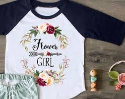 best flower girl gifts flower girl shirt etsy