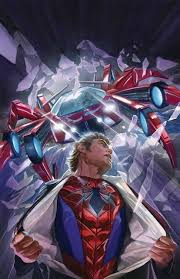 alex ross amazing spider man 8 painting