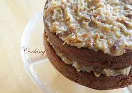 german chocolate cake homemade deliciousness pinterest