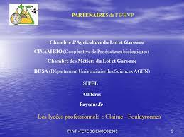 chambre d agriculture agen i f h v p institut français des huiles végétales pures ppt