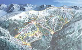 Aspen Colorado Map by Ski Resort Aspen Mountain Ski Resort Map