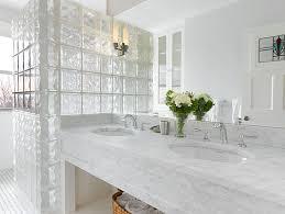 glass block bathroom designs 19 modern spaces featuring glass block