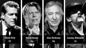 dead musicians and actors 2016 celebrity death stats 2016 the who the why and the what the hell