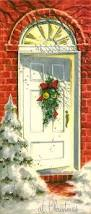 Decorate With Christmas Cards 337 Best Vintage Christmas Cards Images On Pinterest Christmas
