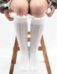 Kids Wool Socks Kids Woolen Wave Socks Baby Knit Long Leg Warmer Keep Warm For