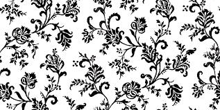 black white design classic black white floral tumblr themes pimp my profile com