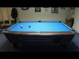 used valley pool table valley pool table recovery youtube