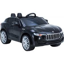 electric 4x4 kids maserati levante style 4x4 12v electric jeep black