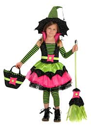 Kids Girls Halloween Costumes Spiderina Witch Girls Costume Girls Witch Halloween Costumes