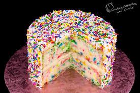 funfetti cake recipe birthday cake rainbow sprinkles