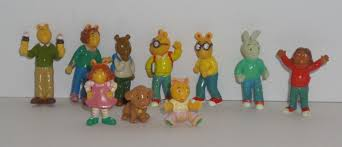pbs arthur aardvark family friends 10 mini figures lot 2 what u0027s