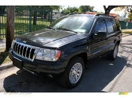 2004 jeep grand cherokee limited 4x4 in brillant black crystal