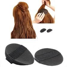 bump it hair 2pcs woman beauty volume hair base bump styling insert pad tool in