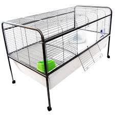 Air Conditioned Rabbit Hutch Liberta Large Warren Rabbit Cage And Stand 104cm U2013 Next Day