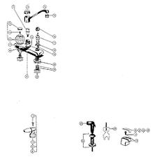 peerless kitchen faucet peerless kitchen faucet parts model 3654 sears partsdirect
