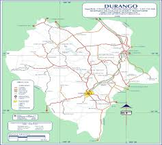 durango mexico map maps of mexico including state maps of mexico