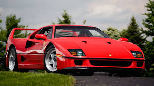 red ferrari eight things you didn u0027t know about the ferrari f40
