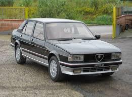 alfa romeo giulietta classic 1983 alfa romeo giulietta autodelta turbo classic italian cars