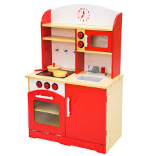 set cuisine enfant cuisine enfant cuisine jouet dinette cuisinière tectake