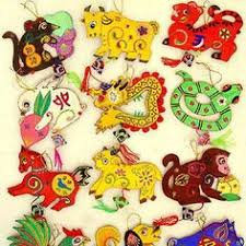 embroidered zodiac ornaments arts crafts new year