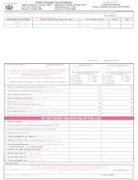 bureau york york tax bureau fill printable fillable blank