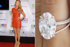 Blake Lively Wedding Ring by Most Popular Engagement Ring Styles Of 2015