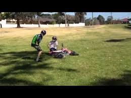 Bike Crash Meme - first time riding dirt bike crash youtube