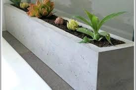 large concrete planter concrete planter boxes concrete narrow tall civic planter box large