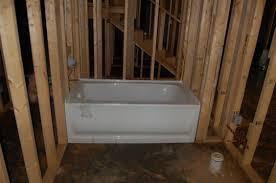 bathroom wonderful bathtub rough in size 97 multichoice