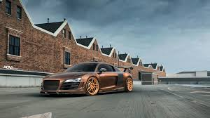 audi r8 ads dub magazine prior design audi r8 v10 on rose gold adv1 wheels