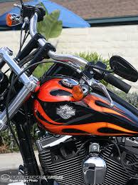 harley davidson dyna wide glide handlebars motorcycle