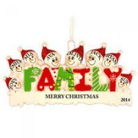 100 ideas personalized ornaments large family on