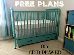 Free Diy Baby Crib Plans by Cloth Diaper Revival Diy Crib Drawer Free Plans