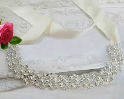 wedding dress sashes wedding dress sash etsy