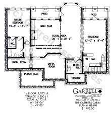 Accessible House Plans Cashiers Cabin House Plan Active House Plans