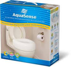 siège toilette surélevé siège de toilette surélevé économique par aquasense aquasense