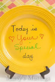it s your special day plate today is your special day plate best plate 2018