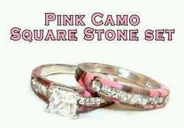 camo wedding sets pink camo wedding ring sets wedding ideas
