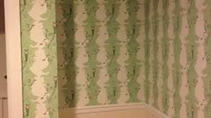 Hand Printed Wallpaper by Special Hand Made Printed Wallpaper Installation In Ny Youtube