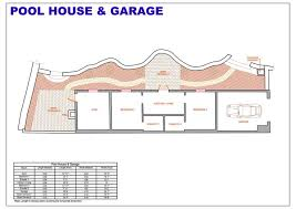 house plans with a pool pool house plans living quarters floor home house plans 58883