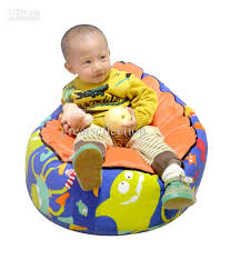 2017 baby bean bag infant cradle children sofa chair cover double