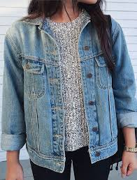 jean sweater jacket crew sweater for fall this with the jean jacket found it on