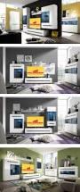 Wohnzimmer Regale Design Wandboard Wohnzimmer Regal Weiß Hochglanz 170cm Neu Regale
