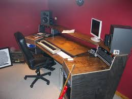 Studio Desk Diy Desk Home Studio Desk Plans