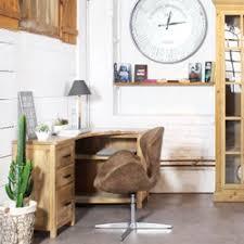 bureau massif moderne bureau en bois massif moderne la redoute