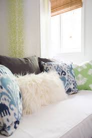 Bedroom Blue And Green Convertible Guest Room Design Reveal Thou Swell
