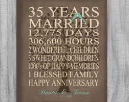 35 anniversary gift oltre 25 fantastiche idee su 35 year anniversary gift su